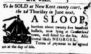 May 25 - Virginia Gazette Purdie and Dixon Slavery 6