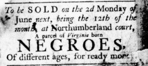May 25 - Virginia Gazette Rind Slavery 2