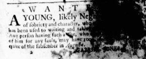 May 25 - Virginia Gazette Rind Slavery 4