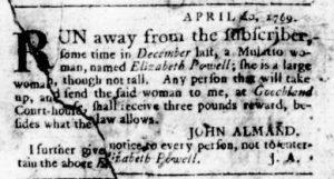 May 25 - Virginia Gazette Rind Slavery 7