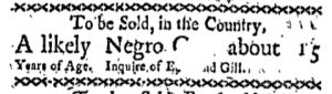 May 29 - Boston-Gazette Slavery 1