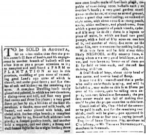 May 29 - South-Carolina and American General Gazette Slavery 8