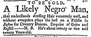 May 8 - Massachusetts Gazette Green and Russell Slavery 2