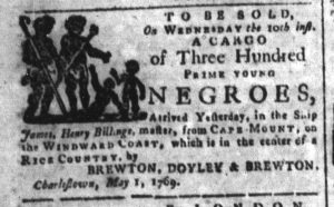May 8 - South-Carolina and American General Gazette Slavery 5