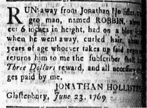 Jul 3 - Connecticut Courant Slavery 1
