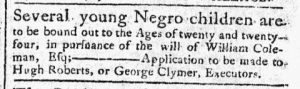 Jul 3 - Pennsylvania Chronicle Slavery 4