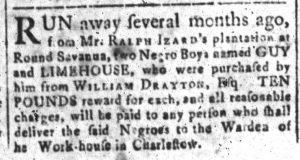 Jul 4 - South-Carolina and American General Gazette Slavery 5