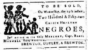 Jun 12 - South-Carolina and American General Gazette Slavery 1