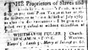 Jun 12 - South-Carolina and American General Gazette Slavery 3