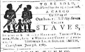 Jun 12 - South-Carolina and American General Gazette Slavery 4