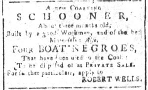 Jun 12 - South-Carolina and American General Gazette Slavery 5