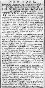 Jun 15 - New-York Chronicle Slavery 1