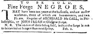 Jun 15 - Pennsylvania Journal Slavery 1