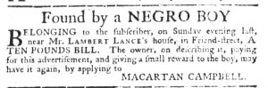 Jun 15 - South-Carolina Gazette Slavery 2