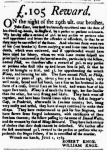 Jun 15 - Virginia Gazette Purdie and Dixon Slavery 1