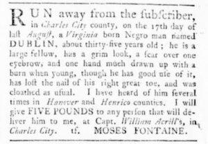Jun 15 - Virginia Gazette Rind Slavery 6