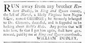 Jun 15 - Virginia Gazette Rind Slavery 7
