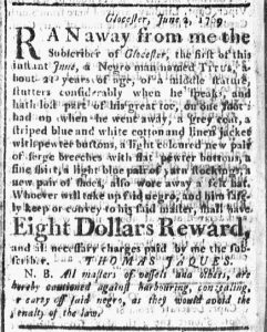 Jun 22 - Boston Chronicle Slavery 1