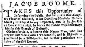 Jun 22 - New-York Chronicle Slavery 1