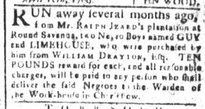 Jun 27 - South-Carolina and American General Gazette Slavery 3