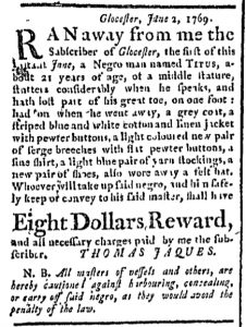 Jun 29 - Boston Chronicle Slavery 1