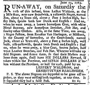Jun 29 - New-York Journal Supplement Slavery 1