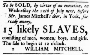 Jun 29 - Virginia Gazette Purdie and Dixon Slavery 1