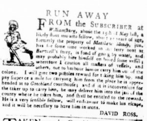 Jun 29 - Virginia Gazette Purdie and Dixon Slavery 3