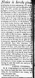 Jun 30 - 6:30:1769 New-London Gazette