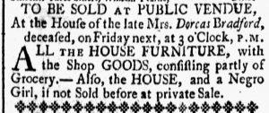 Jun 30 - New-Hampshire Gazette Slavery 1