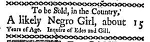 Jun 5 - Boston-Gazette Slavery 1