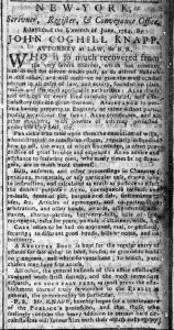 Jun 5 - New-York Chronicle Slavery 1