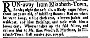 Jun 5 - New-York Gazette Weekly Mercury Slavery 2