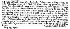 Jun 7 - Georgia Gazette Slavery 13