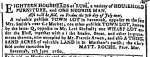 Jun 7 - Georgia Gazette Slavery 3