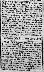 Aug 10 - New-York Chronicle Slavery 1