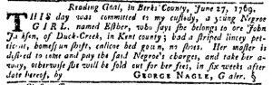Aug 10 - Pennsylvania Gazette Slavery 3