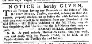 Aug 10 - South-Carolina Gazette Slavery 3