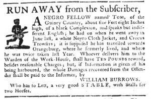 Aug 10 - South-Carolina Gazette Slavery 4