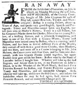 Aug 10 - South-Carolina Gazette Slavery 5
