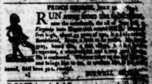 Aug 10 - Virginia Gazette Purdie and Dixon Slavery 4