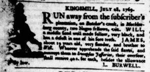 Aug 10 - Virginia Gazette Purdie and Dixon Slavery 6