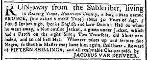 Aug 14 - New-York Gazette or Weekly Post-Boy Slavery 2