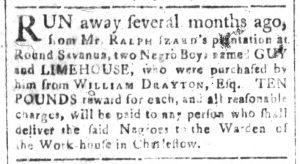 Aug 14 - South-Carolina and American General Gazette Slavery 5