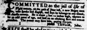 Aug 17 - Virginia Gazette Purdie and Dixon Slavery 3