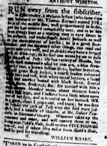 Aug 17 - Virginia Gazette Rind Slavery 2