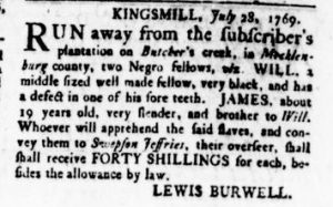 Aug 17 - Virginia Gazette Rind Slavery 5
