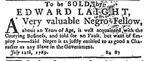 Aug 3 - New-York Journal Supplement Slavery 2