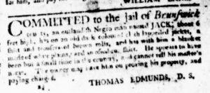 Aug 3 - Virginia Gazette Purdie and Dixon Slavery 5