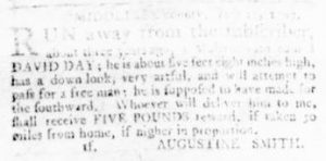Aug 3 - Virginia Gazette Rind Slavery 6